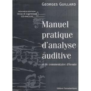 Manuel pratique d'analyse auditive - laflutedepan.com