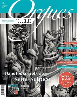 Orgues nouvelles, n° 45 (été 2019) - Revue - Livre - laflutedepan.com