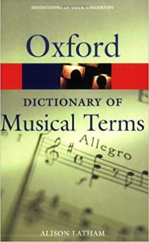 Oxford dictionary of musical terms Alison LATHAM laflutedepan.be