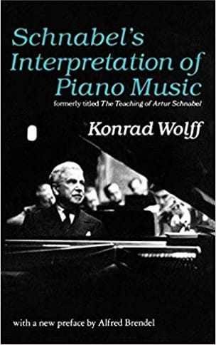 Schnabel's Interpretation of Piano - Konrad WOLFF - laflutedepan.com