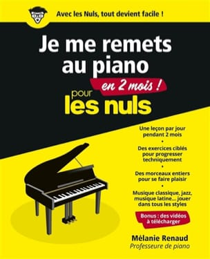 Mélanie RENAUD - I go back to the piano in 2 months for dummies - Book - di-arezzo.co.uk