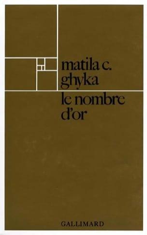 Le Nombre d'or - GHYKA Matila Costiescu - Livre - laflutedepan.com