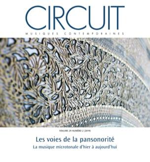 Circuit, vol. 29, n° 2 (2019) - Les voies de la pansonorité - laflutedepan.com