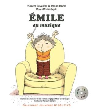 Émile en musique COLLECTIF Livre Contes musicaux - laflutedepan.be