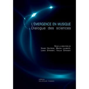 L'émergence en musique : dialogue des sciences COLLECTIF laflutedepan