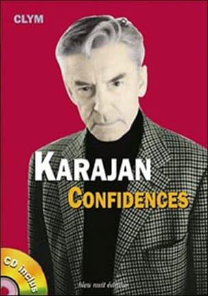 Karajan - Confidences - CLYM - Livre - Les Hommes - laflutedepan.com
