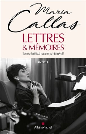 Lettres & mémoires - Maria CALLAS - Livre - laflutedepan.com