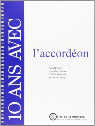 10 ans avec l'accordéon COLLECTIF Livre Les Instruments - laflutedepan