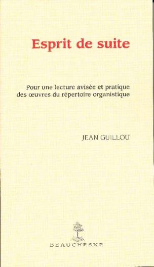 Esprit de suite - Jean GUILLOU - Livre - laflutedepan.com