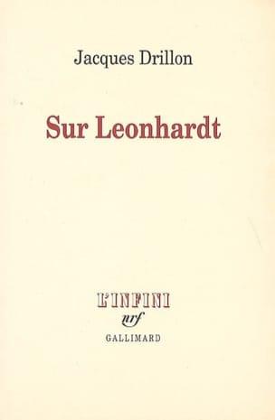 Sur Leonhardt Jacques DRILLON Livre Les Hommes - laflutedepan