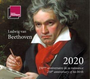 Agenda Beethoven 2020 Emilie MUNERA Livre Les Hommes - laflutedepan