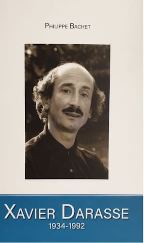 Xavier Darasse (1934-1992) Philippe BACHET Livre laflutedepan