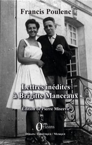 Lettres inédites à Brigitte Marceaux POULENC Livre laflutedepan