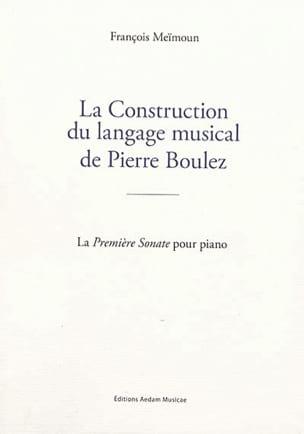 La Construction du langage musical de Pierre Boulez - laflutedepan.com