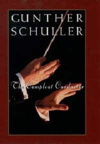 The compleat conductor Gunther SCHULLER Livre laflutedepan
