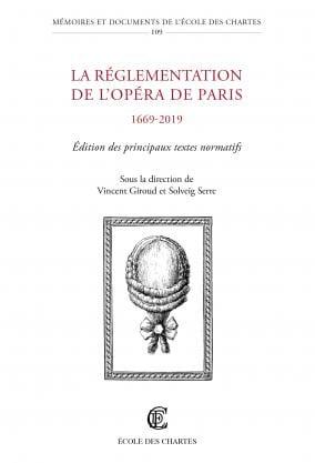 La réglementation de l'opéra de Paris laflutedepan