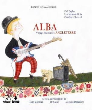 Alba, voyage musical en Angleterre Zaf Zapha Livre laflutedepan