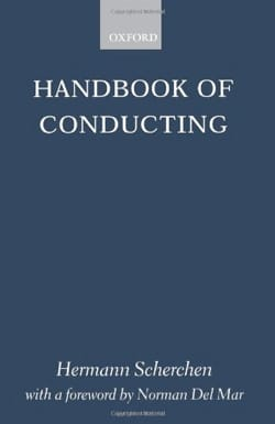 Handbook of conducting Hermann SCHERCHEN Livre laflutedepan