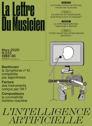 La Lettre du Musicien n°533 (mars 2020) Revue Livre laflutedepan