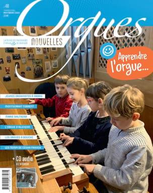 Orgues Nouvelles n°48, printemps 2020 Revue Livre laflutedepan
