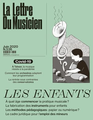 Revue - The Musician's Letter n ° 536 (June 2020): Children - Livre - di-arezzo.com