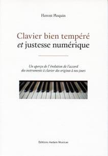 Florent PLOQUIN - Le clavier bien-tempéré et justesse numérique - Livre - di-arezzo.fr
