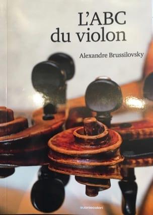 L'ABC du violon Alexandre BRUSSILOVSKY Livre laflutedepan