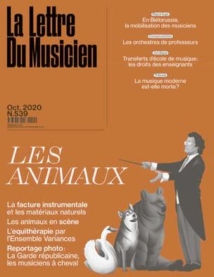 La Lettre du Musicien n°539 (octobre 2020) : Les Animaux - laflutedepan.com
