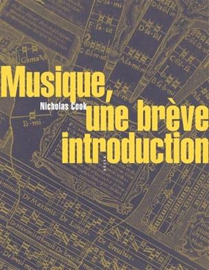 Musique : une brève introduction Nicholas COOK Livre laflutedepan