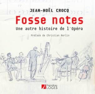 Fosse notes CROCQ Jean-Noël Livre Les Hommes - laflutedepan