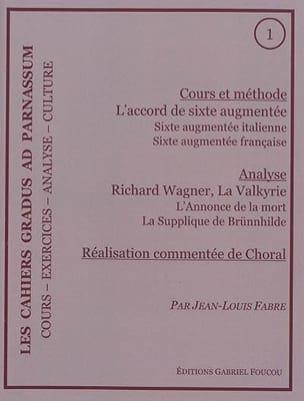 Les cahiers Gradus ad parnassum, n° 1 FABRE Jean-Louis laflutedepan
