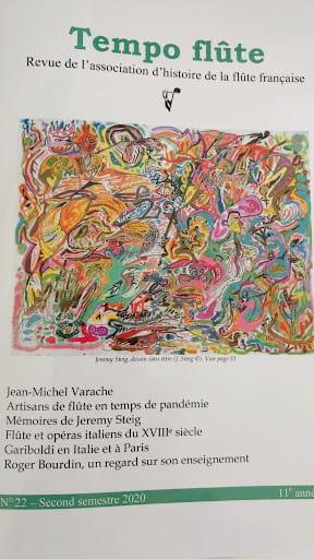 Tempo Flûte n°22 (Second semestre 2020) Revue Livre laflutedepan