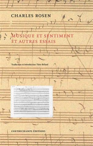 Musique et sentiment : et autres essais Charles ROSEN laflutedepan