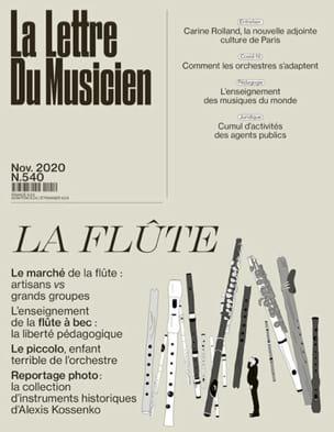 La Lettre du Musicien n°540 (novembre 2020) : La Flûte laflutedepan