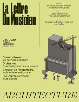 La lettre du musicien, n° 541 - Décembre 2020 Revue Livre laflutedepan