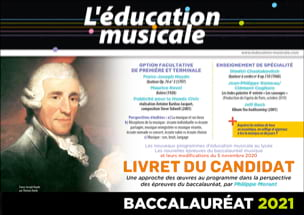 L'éducation musicale - Livret du candidat - Baccalauréat 2021 - laflutedepan.be
