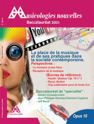 Musicologies Nouvelles - Baccalauréat 2021 Revue Livre laflutedepan