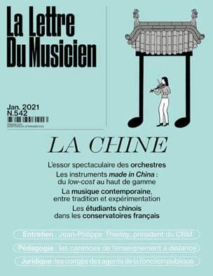 La Lettre du Musicien n°542 (janvier 2021) : La Chine laflutedepan