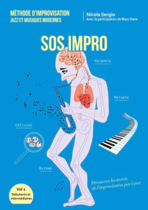 SOS Impro SERGIO Nicola / DANA Marc Livre Improvisation - laflutedepan