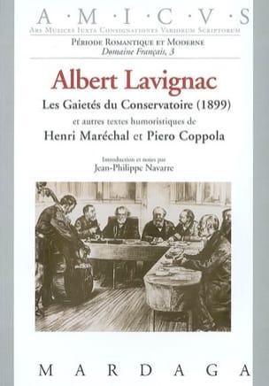 Les gaités du Conservatoire (1899) Paris, souvenirs d'un musicien (1906) - laflutedepan.com