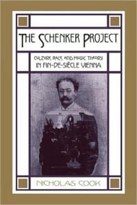 The Schenker project : culture, race, and music theory in fin-de-siècle Vienna - laflutedepan.com