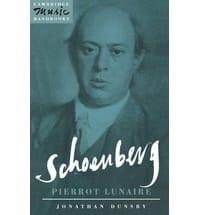 Schoenberg Pierrot lunaire Jonathan DUNSBY Livre laflutedepan