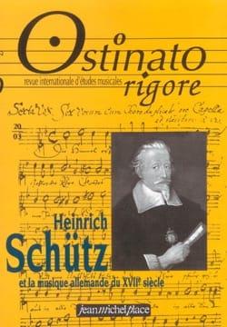 Ostinato rigore, n° 20 Heinrich Schütz et la musique allemande du XVIIe siècle - laflutedepan.com