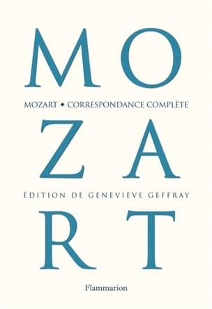 Correspondance complète MOZART Livre Les Hommes - laflutedepan