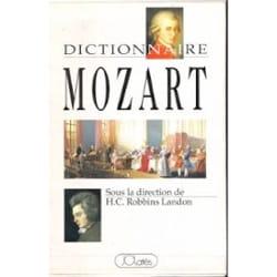 Dictionnaire Mozart (Livre d'occasion) - laflutedepan.com