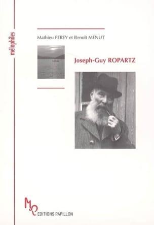 Joseph-Guy Ropartz FEREY Mathieu / MENUT Benoît Livre laflutedepan