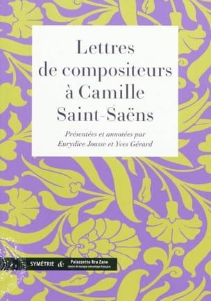 Lettres de compositeurs à Camille Saint-Saëns - laflutedepan.com