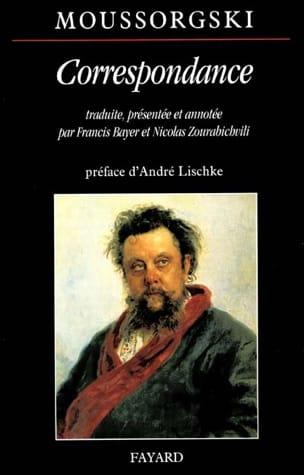 Correspondance MOUSSORGSKI Livre Les Hommes - laflutedepan