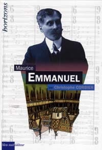 Maurice Emmanuel - Christophe CORBIER - Livre - laflutedepan.com