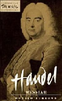 Handel - Messiah - Donald BURROWS - Livre - laflutedepan.com
